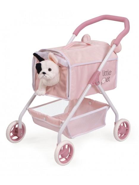 Coche de Muñecas Mi Primer Carro Little Pet de De Cuevas Toys 86039